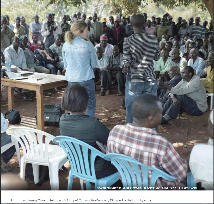 uganda dispute resolution